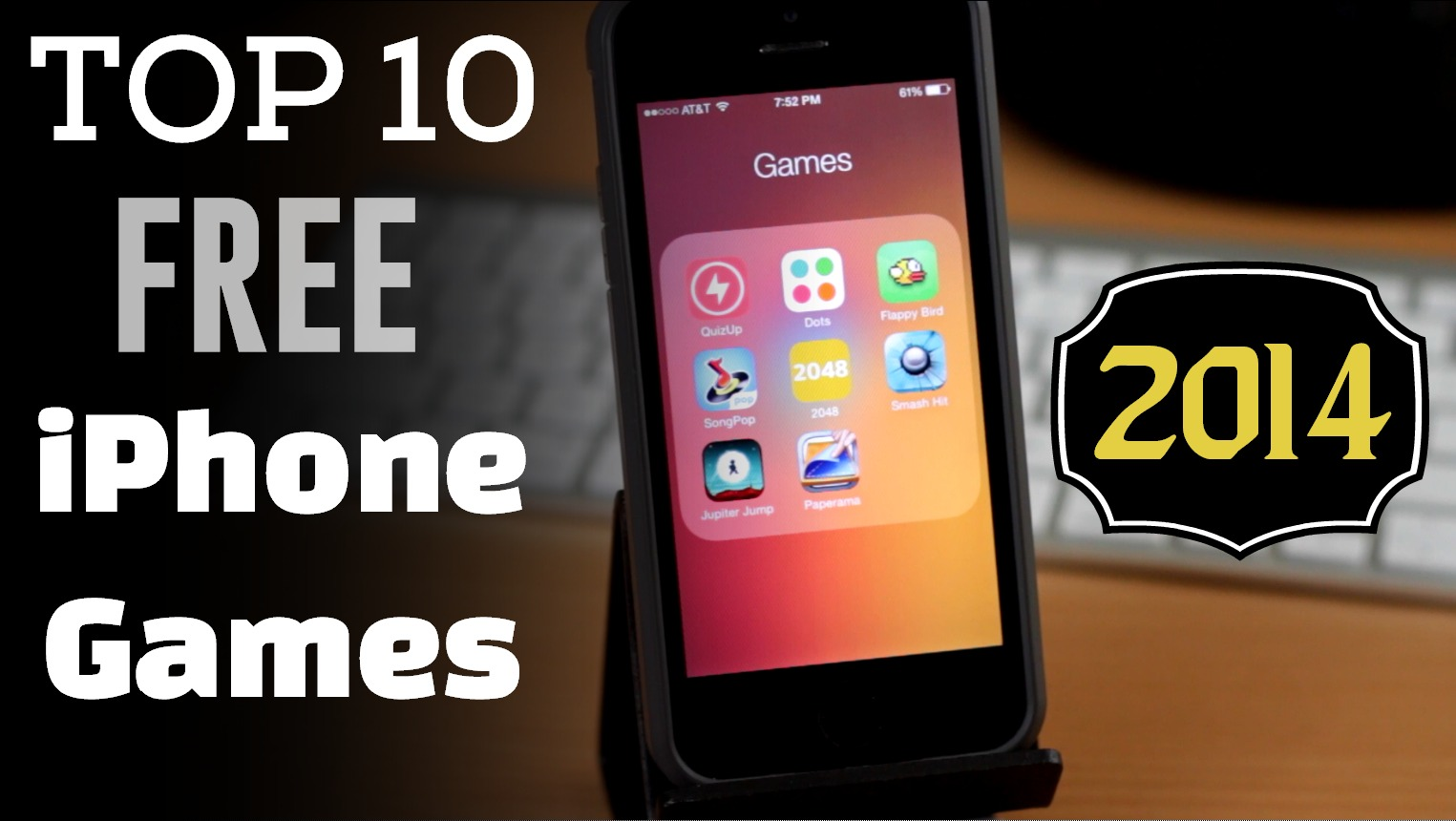 top ten iphone games free